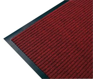 RIB MAT 60 cm X 90cm - RED - EACH
