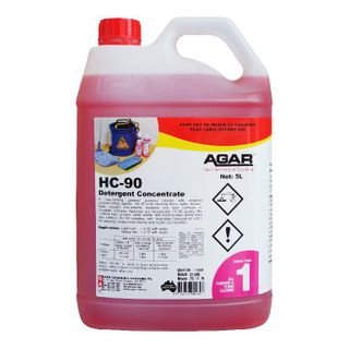 AGAR HC-90 - DETERGENT CONCENTRATE (H.G) 5L
