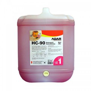 AGAR HC-90 - DETERGENT CONCENTRATE (H.G) 20L
