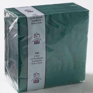 CAPRICE LUNCH 2PLY PINE GREEN NAPKIN - 2000 - CTN