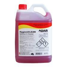 AGAR HYGIENICLEAN ( SANITISER ) CLEANER 5L