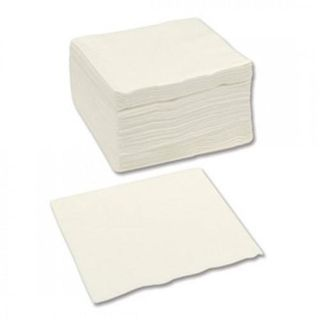 CAPRI DINNER QUILTED 1/4 (QUARTER FOLD) WHITE NAPKIN -100 - PKT