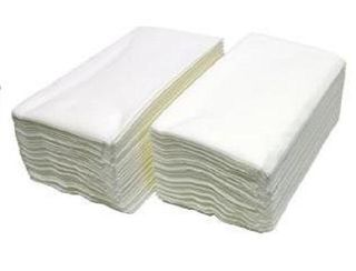 "CAPRI DINNER "" LINEN FEEL GT FOLD WHITE NAPKIN - 50 - PKT"