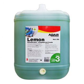 AGAR LEMON DISINFECTANT/DEODORISER/CLEANER 20L