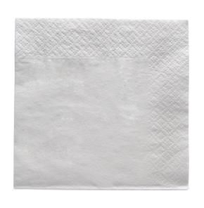 CAPRI COCKTAIL NAPKIN QUILTED 1/4 FOLD - WHITE - 250 - PKT