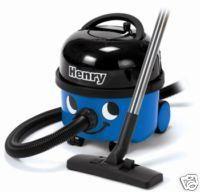 NUMATIC HENRY BLUE VACUUM CLEANER - 9L ( HVR200B ) - EACH