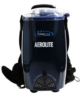 CLEANSTAR AEROLITE BACK PACK VACUUM, VBP1400-B - BLACK - EACH