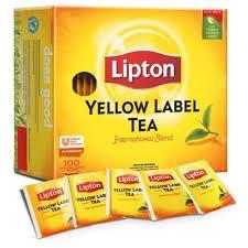 LIPTONS YELLOW LABEL BLACK TEA -ENVELOPED (67516638) - 100 - PACKET