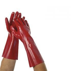 PRO CHOICE - LONG RED CHEMICAL GLOVES - PAIR
