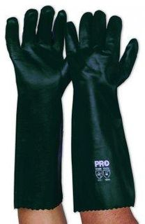 PRO CHOICE LONG GREEN CHEMICAL GLOVES (DOUBLE DIPPED) - PAIR