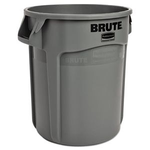RUBBERMAID BRUTE BIN - GREY - 37.9L (10 Gal)