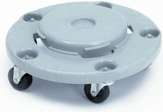 RUBBERMAID BRUTE ROUND DOLLY (FOR 2620, 2632, 2643, 2655) - EACH