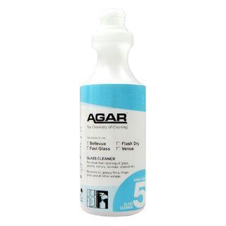 PRINTED AGAR GLASS CLEANER BOTTLE 500ML (D05) - EACH