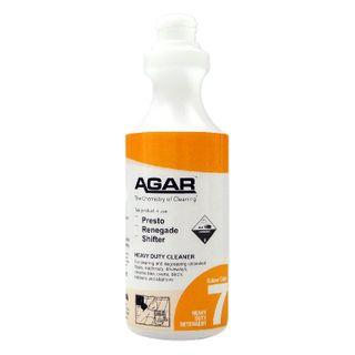 PRINTED AGAR HEAVY DUTY CLEANER BOTTLE 500ML (D07) - EACH