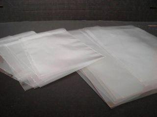 TP 35UM 12 X 10 (305 X 255 MM) LDPE CLEAR / PLAIN BAGS - 100-PKT