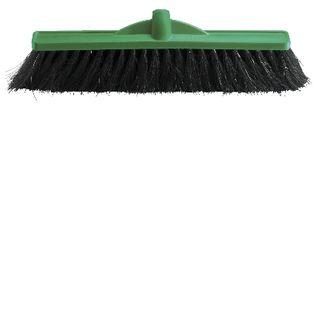 OATES 45CM HAIR FIBRE BLEND BROOM HEAD - GREEN -(B-12161 / 164752) - EACH