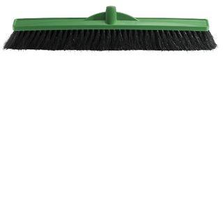 OATES 60CM HAIR FIBRE BLEND BROOM HEAD - GREEN - (B-12162 / 164754) - EACH