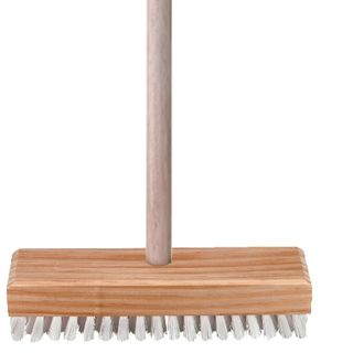 OATES MARINE SCRUBBER WITH WHITE SYNTHETIC BRISTLES ( HEAD ONLY ) - (B-12402 / 164795) -EACH