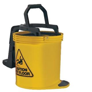 OATES DURACLEAN WRINGER BUCKET Mkll -YELLOW -(IW-008 / 165430) -EACH