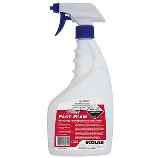 "Ecolab "" FAST FOAM "" Heavy Duty Oven & Grill Cleaner 750ML"