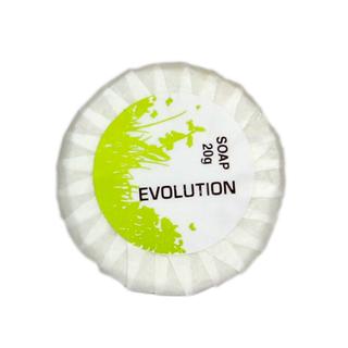EVOLUTION 20g PLEATED SOAP  - 25 - SLV