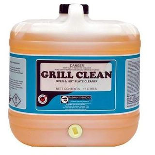 "Tasman "" GRILL CLEAN ""  grease & oven cleaner - 15L"