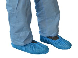 PRO-VAL GLOSHIE SHOE COVERS BLUE 100-PKT