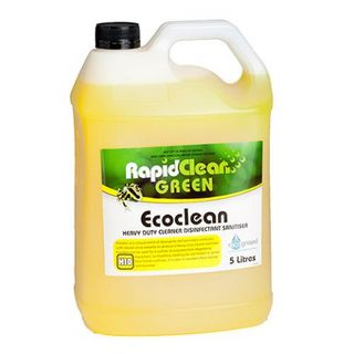 RAPID CLEAN ECOCLEAN HD CLEANER - DISINFECTANT -SANITISER - 5L