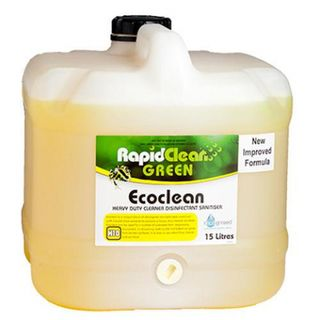 RAPID CLEAN ECOCLEAN HD CLEANER - DISINFECTANT - SANITISER - 15L