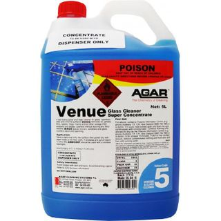 AGAR VENUE GLASS & WINDOW CLEANER CONCENTRATE - 5L