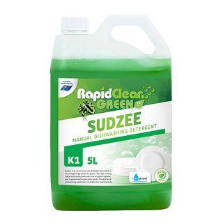 "Rapid Clean "" SUDZEE "" Sink Detergent - Green - 5L (Recognised Environmental)"