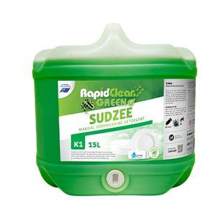 "Rapid Clean "" SUDZEE EXTRA "" Sink Detergent - Green - 15L (Recognised Environmental)"