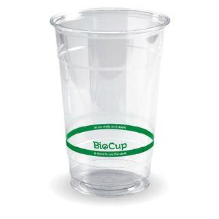 BIOPAK 600ml Clear Cup - 1000 - ( R-600Y ) - CTN