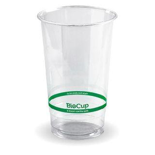 BIOPAK 700ml Clear Cup - 1000 - ( R-700Y ) - CTN