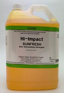 SUNFRESH  Sink Dishwashing Detergent - Yellow- 5L
