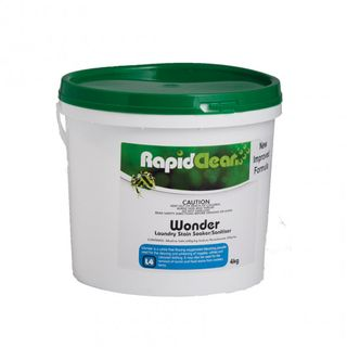 "Rapid Clean "" WONDER "" LAUNDRY STAIN / SANITISER - 4KG BUCKET"