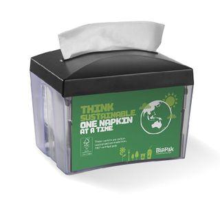 BIOPAK Single Saver BioDispensers - Table Top - BioPak branded - 8 - ( L-SSD-TT ) - CTN