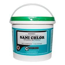 TASMAN SANI CHLOR  Cleaner, Destainer, Sanitiser - 15KG