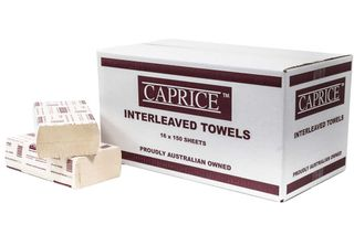 CAPRICE SUPERSLIM ( 1516cu ) INTERLEAVED HAND TOWELS - 2400-CTN