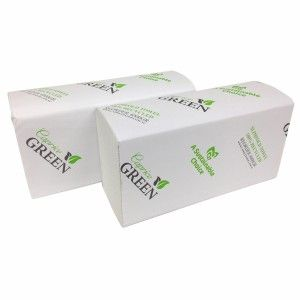 CAPRICE GREEN SLIMLINE INTERLEAF H/TOWEL-(4000GR)- 4000 -CTN