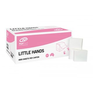ROYAL TOUCH LITTLE HANDS PAPER TOWEL- (66060 /66100) - 4800 -CTN