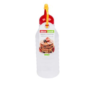 DECOR 500ML SAUCE BOTTLE (RED CAP) - EACH