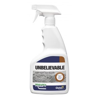 """Research """" UNBELIEVABLE  """" Carpet Spot & Stain Remover - 750ML"""