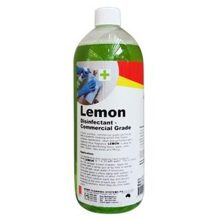 AGAR LEMON DISINFECTANT/DEODORISER/CLEANER 1L