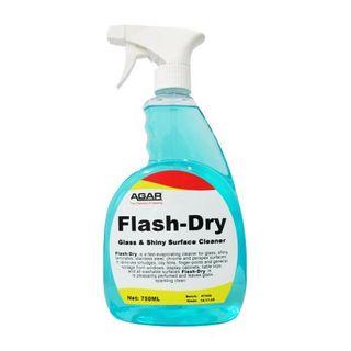 AGAR FLASH DRY PREMIUM GLASS & SURFACE CLEANER - 750ML