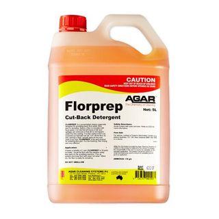 AGAR FLORPREP - CUT BACK DETERGENT - 5L