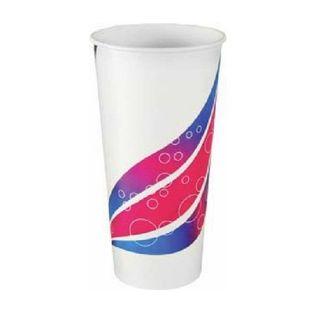 CAPRI PAPER COLD - MILK SHAKE CUP - 22OZ /625ML - 50 - SLV