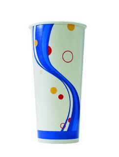 TP ALFRESCO PAPER COLD - MILK SHAKE CUP 24oz - 500 - CTN