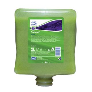DEB SOLOPOL LIME HAND CLEANER - 2L -  POD