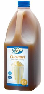 EDLYNS CARAMEL TOPPING - 3L - BOTTLE